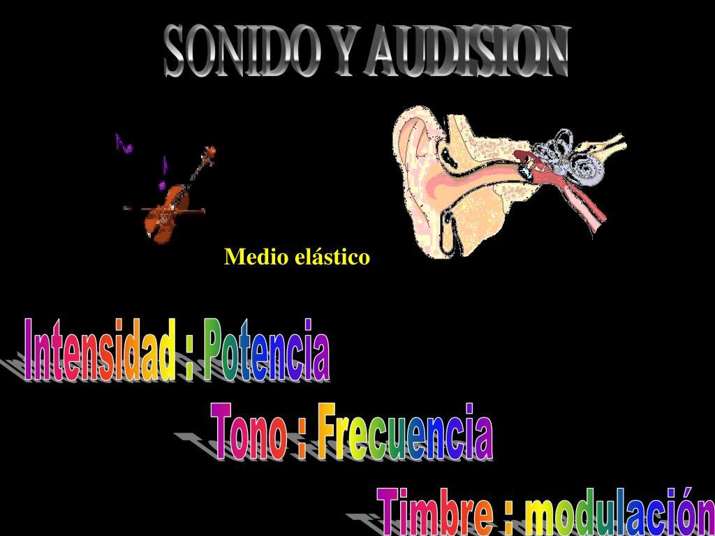 SONIDO Y AUDISION