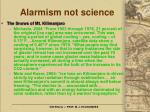 alarmism not science20