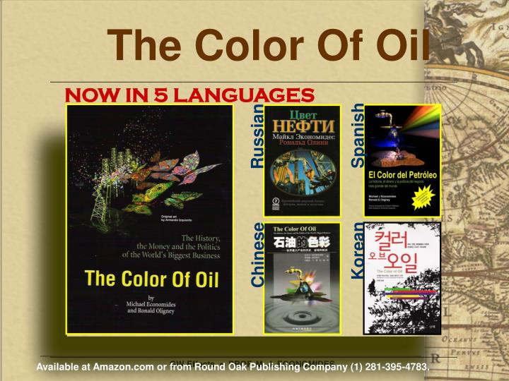 The color of oil