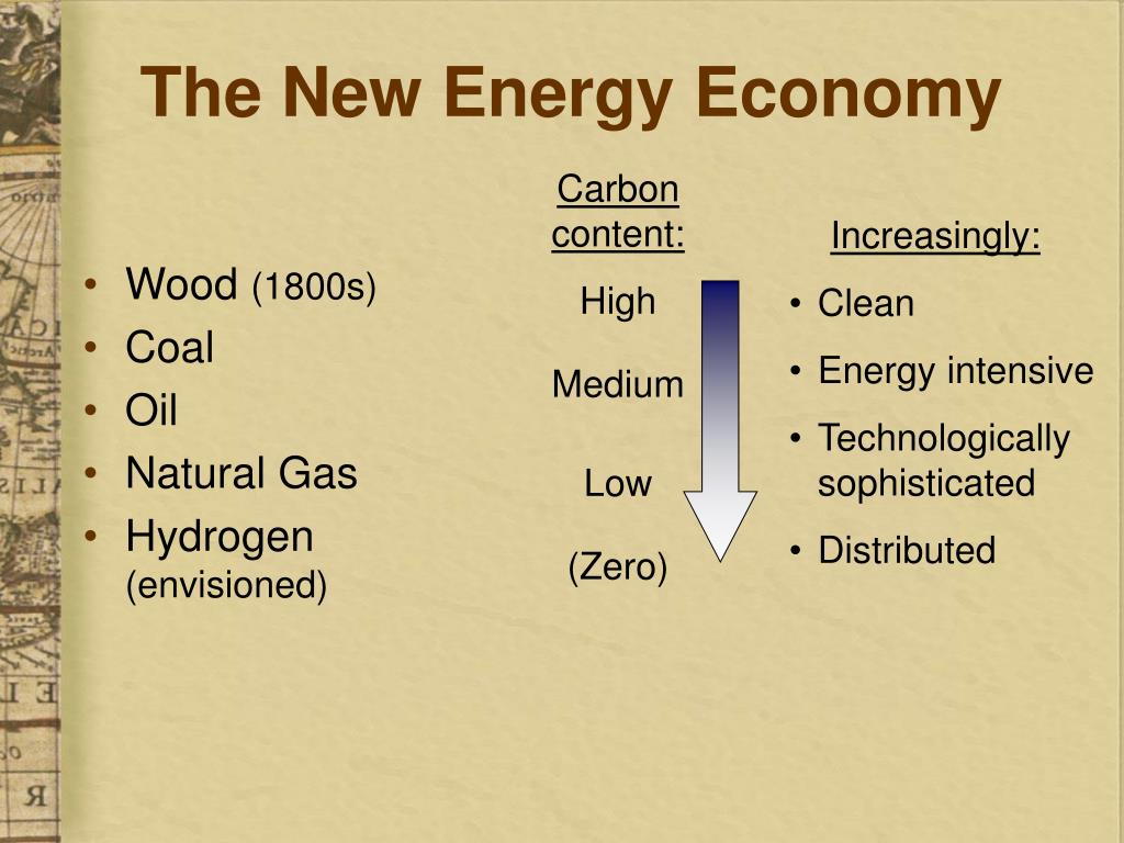 The New Energy Economy