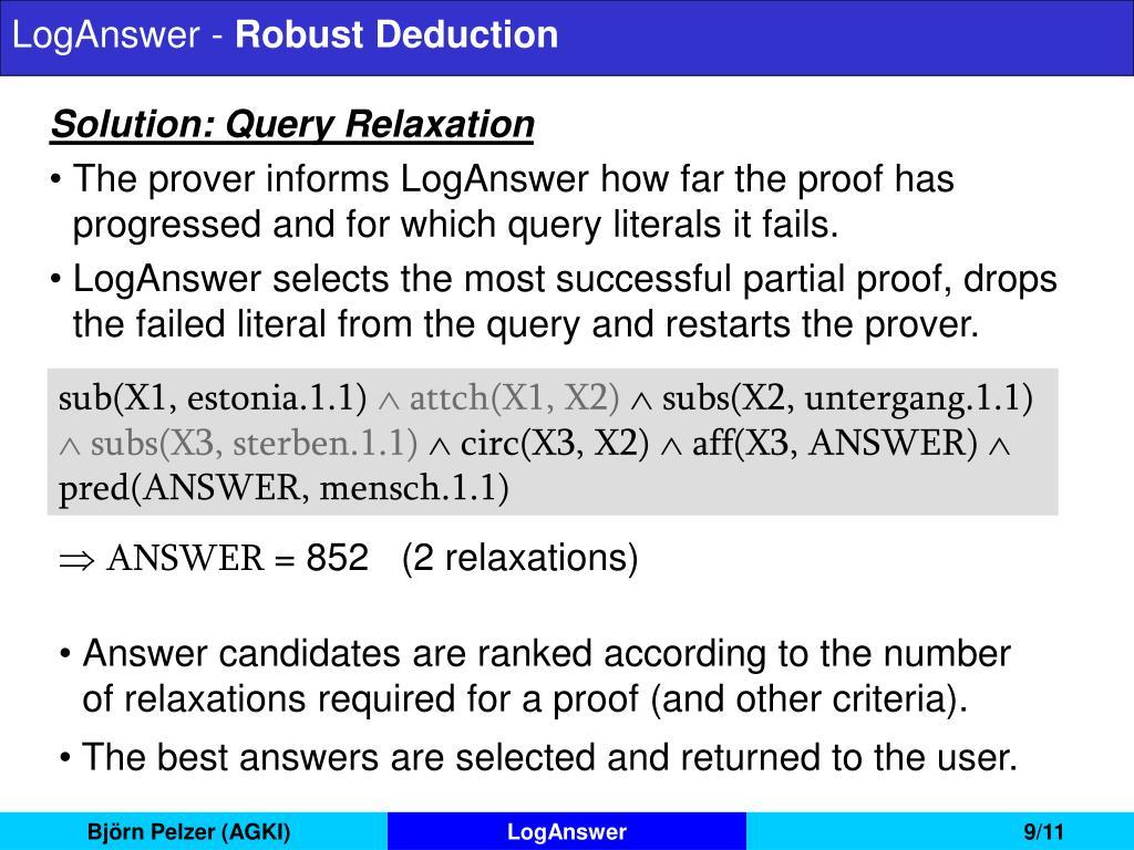 LogAnswer -