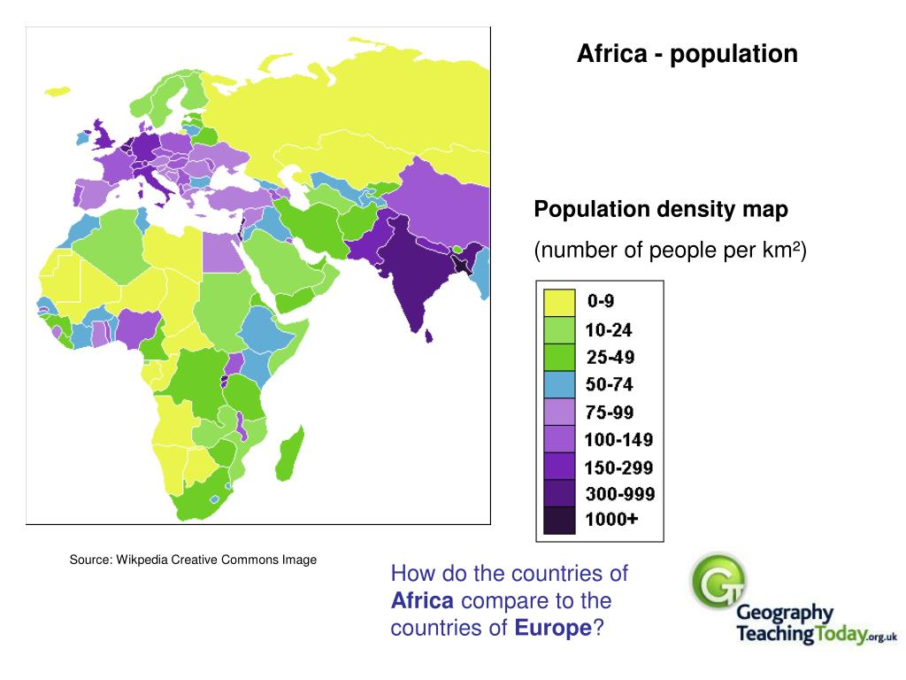 Africa - population