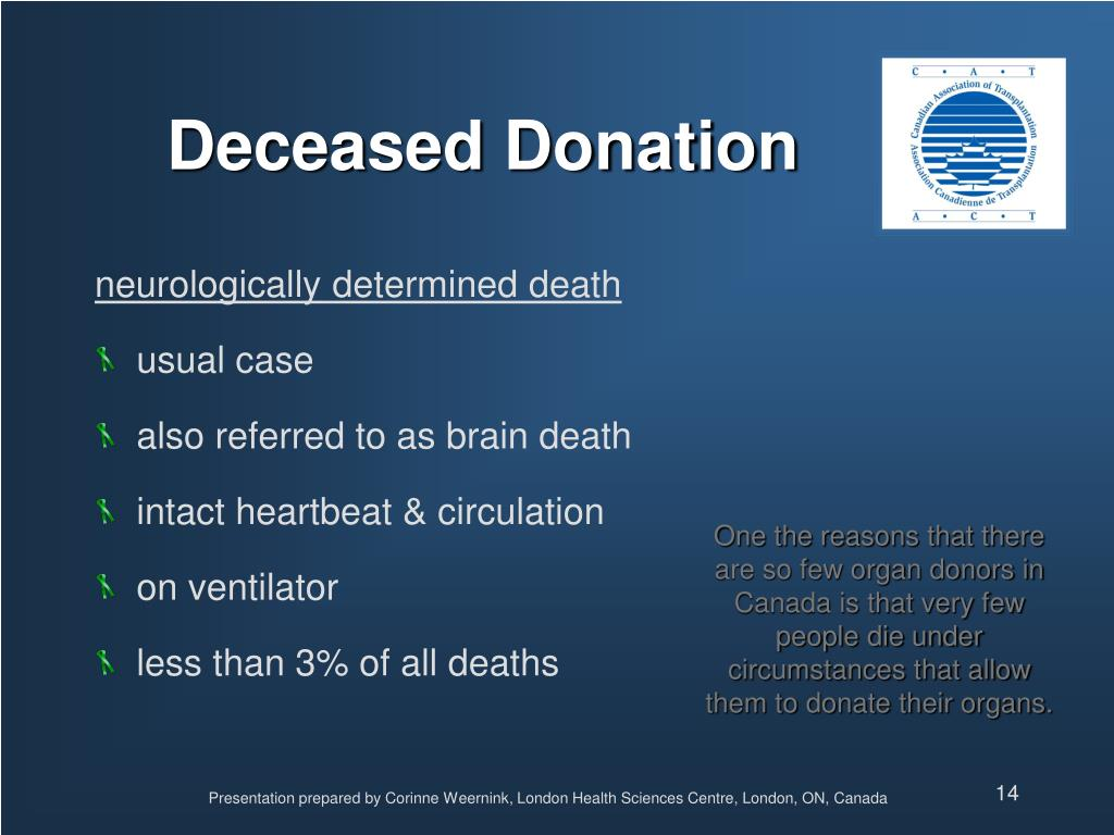 Deceased Donation