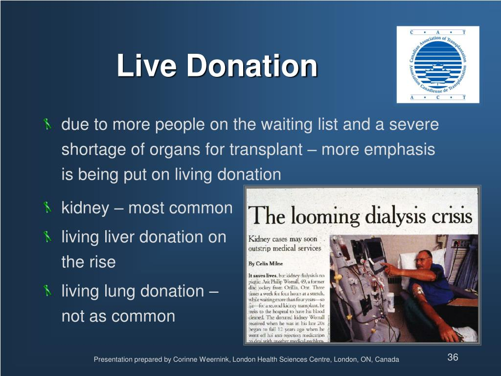 Live Donation