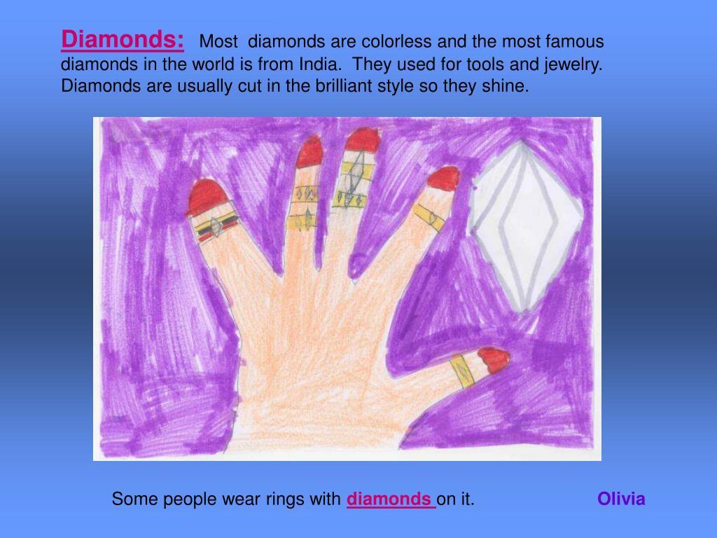 Diamonds: