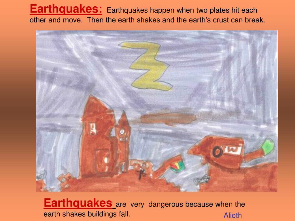Earthquakes: