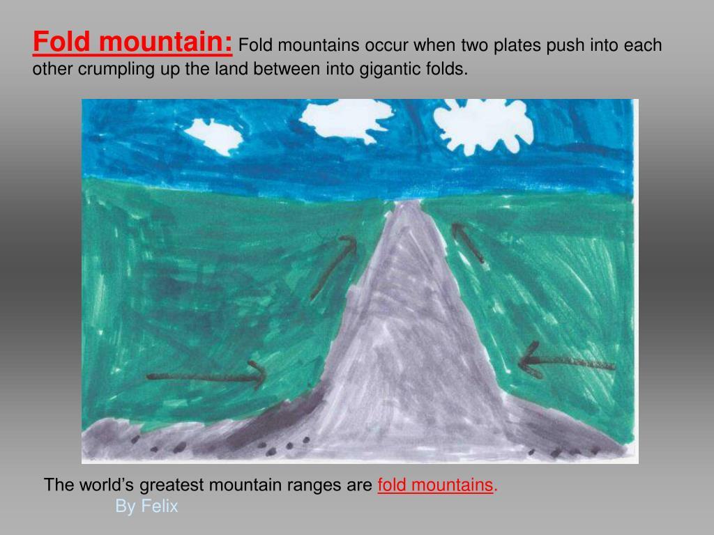 Fold mountain: