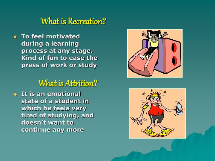 What is Recreation?