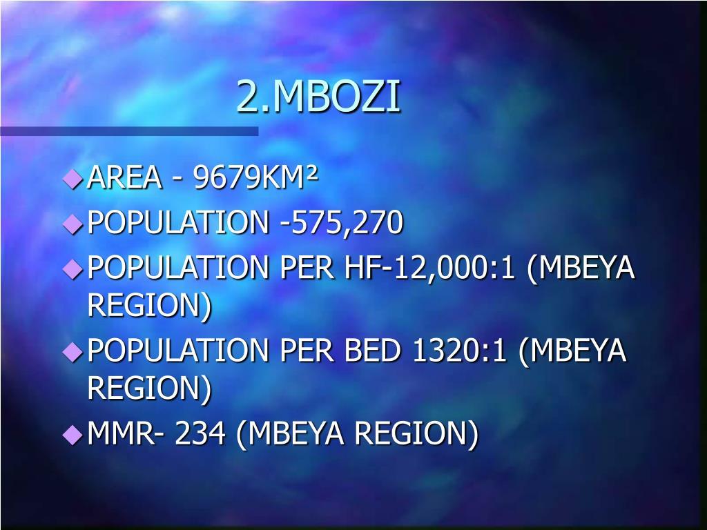 2.MBOZI