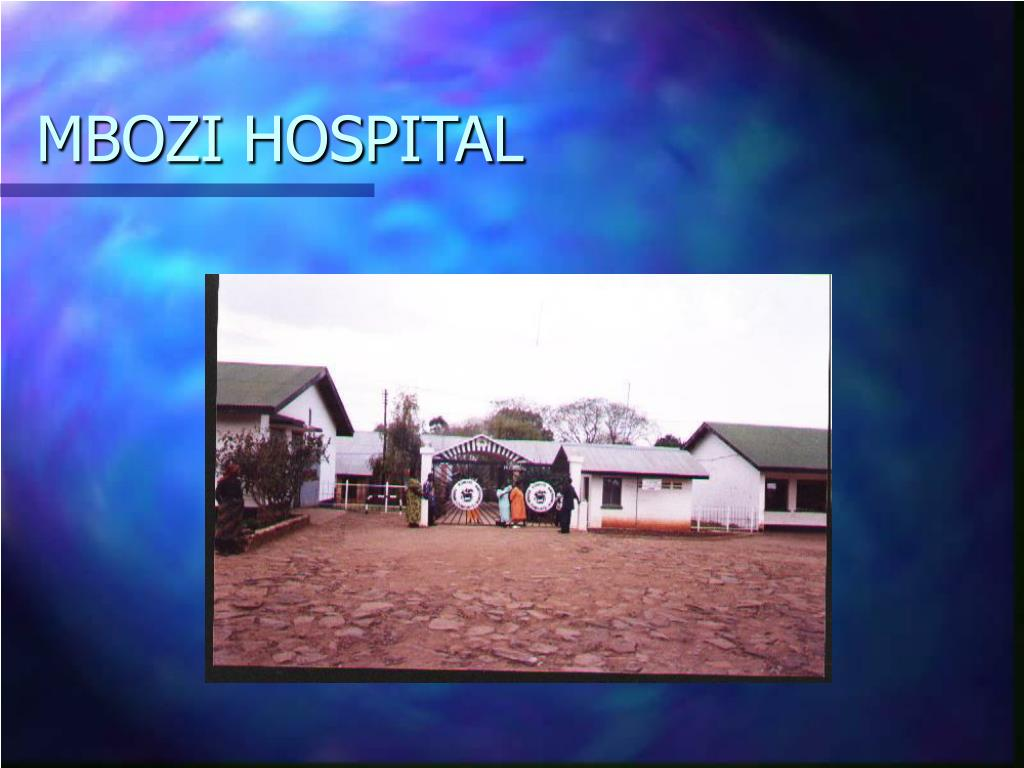 MBOZI HOSPITAL