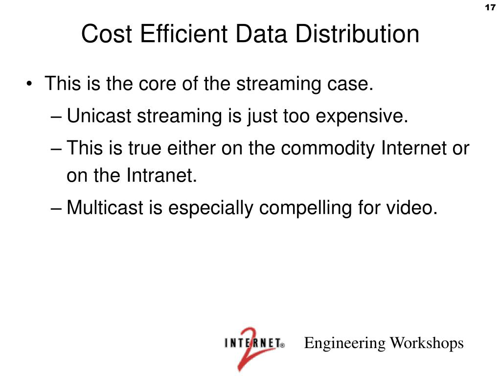 Cost Efficient Data Distribution