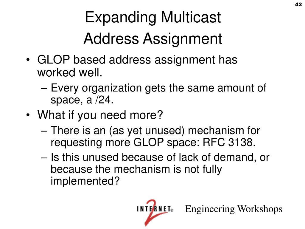 Expanding Multicast