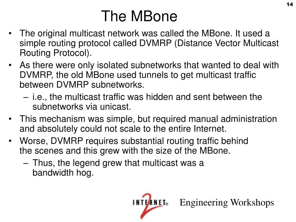 The MBone