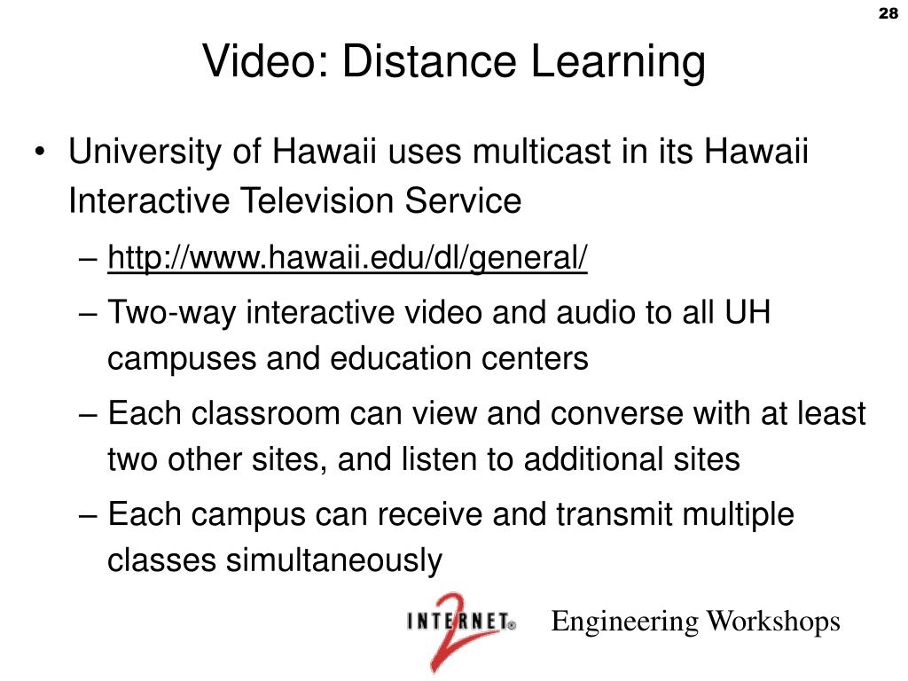Video: Distance Learning