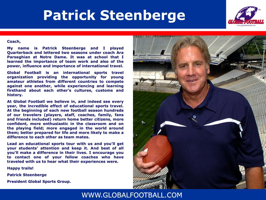 Patrick Steenberge