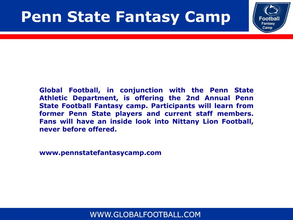 Penn State Fantasy Camp