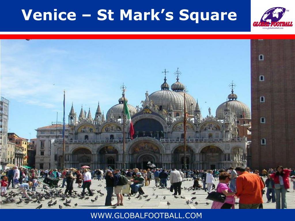Venice – St Mark's Square