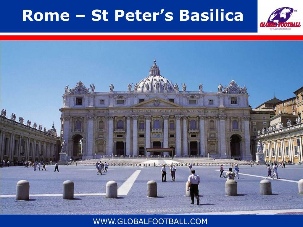 Rome – St Peter's Basilica