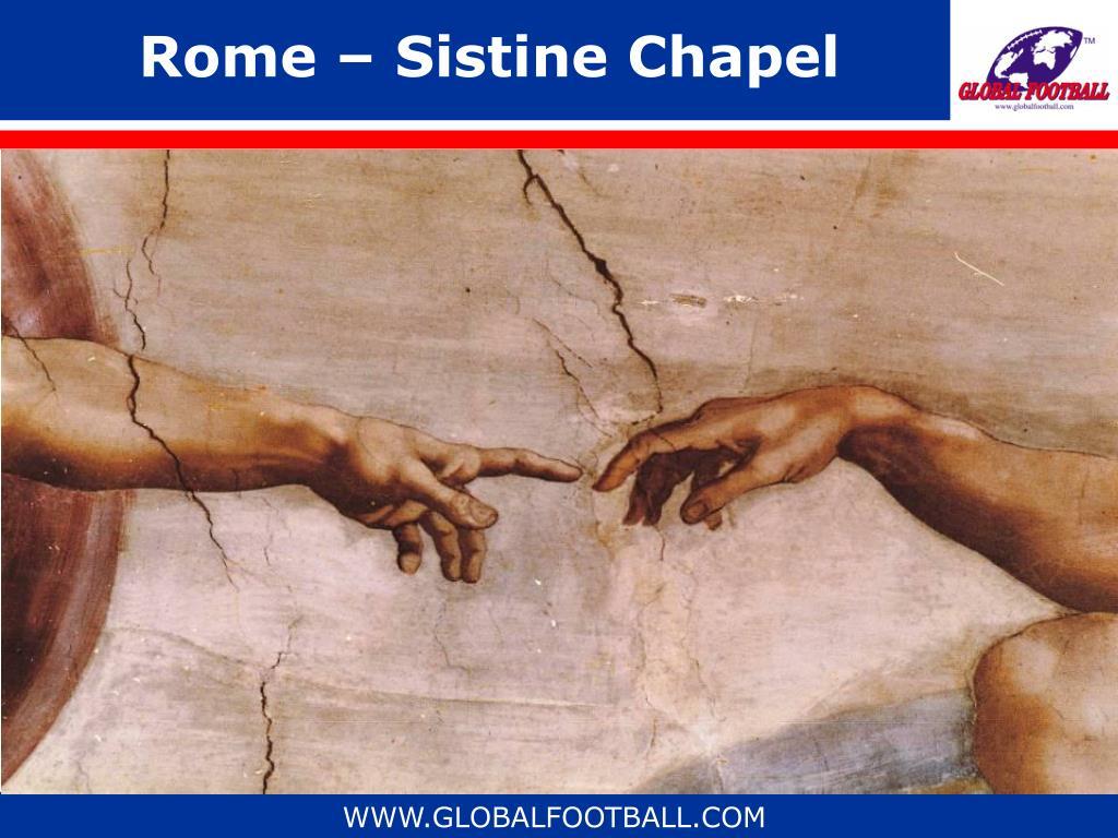 Rome – Sistine Chapel