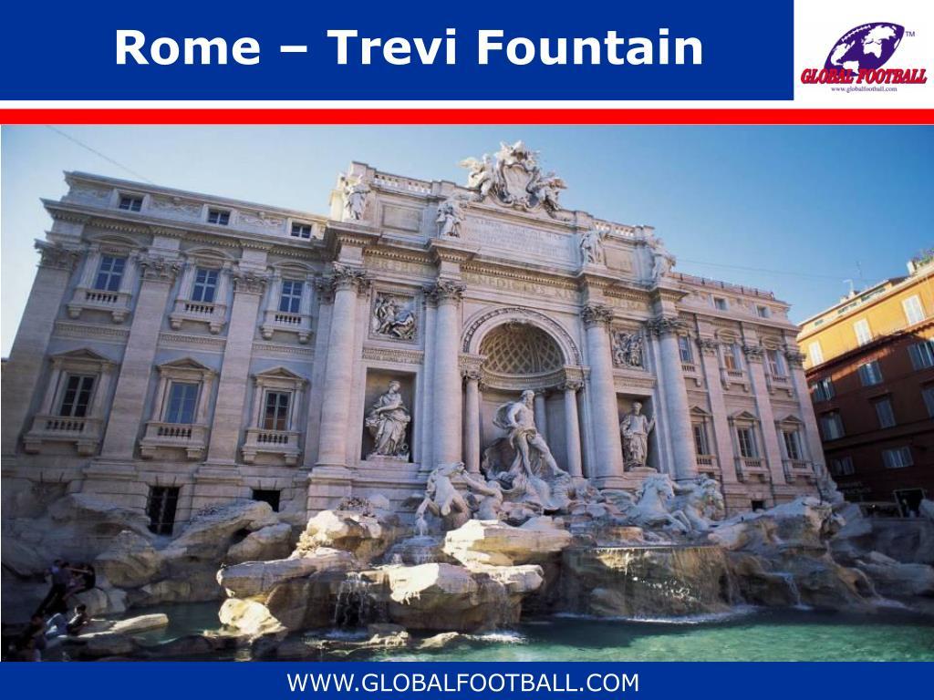Rome – Trevi Fountain