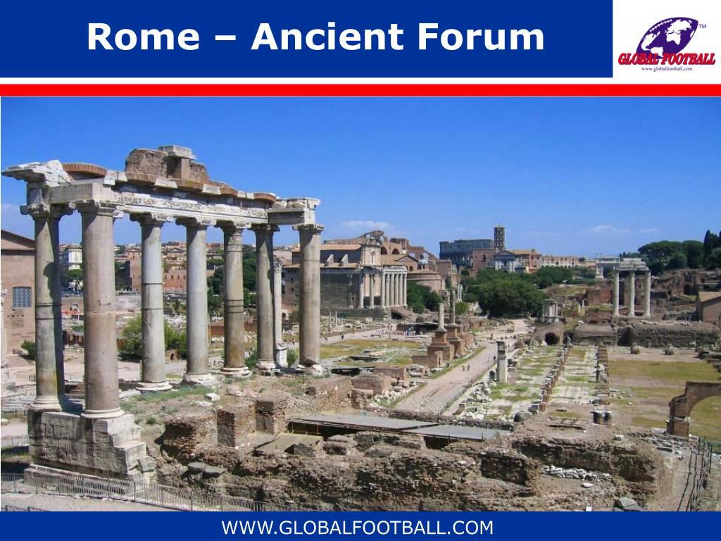Rome – Ancient Forum