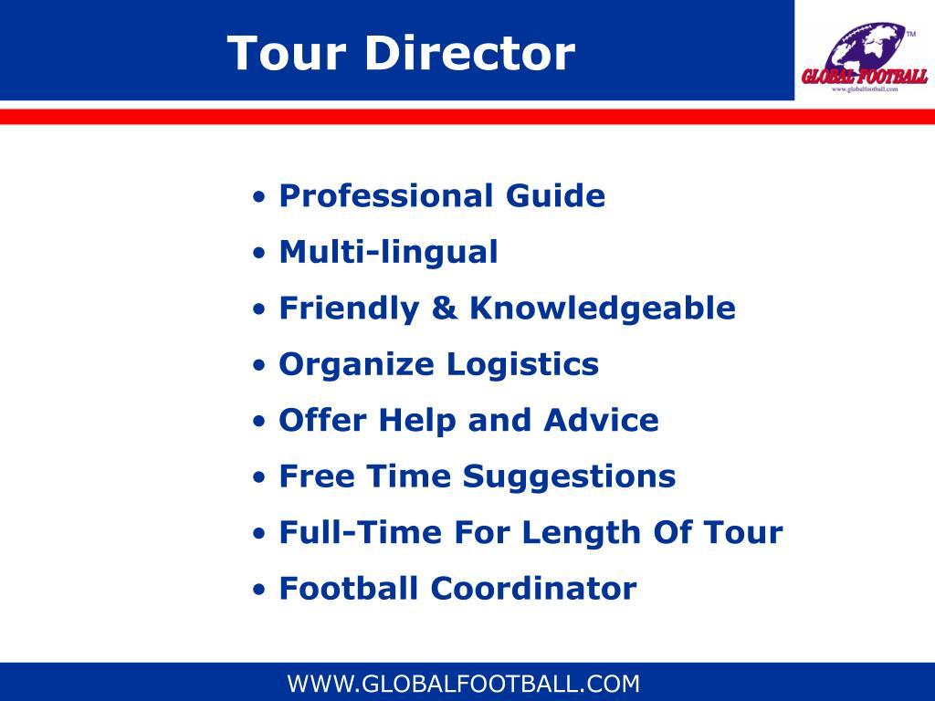Tour Director