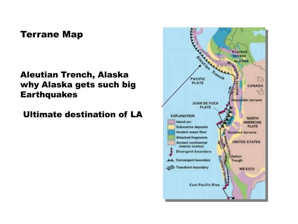 Terrane Map