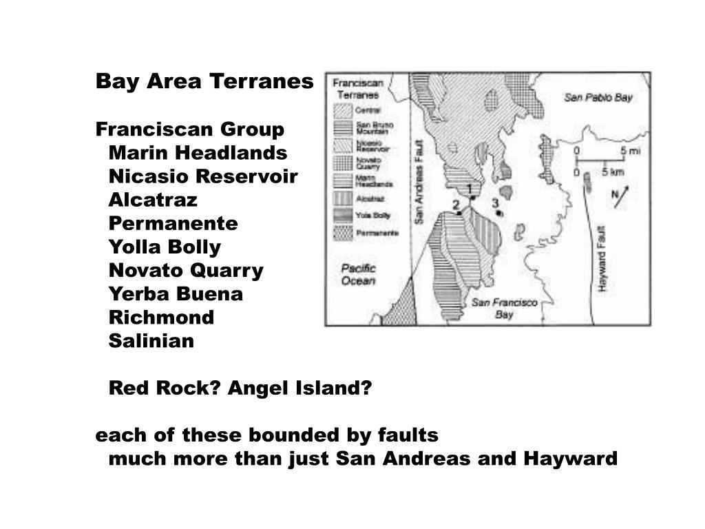 Bay Area Terranes