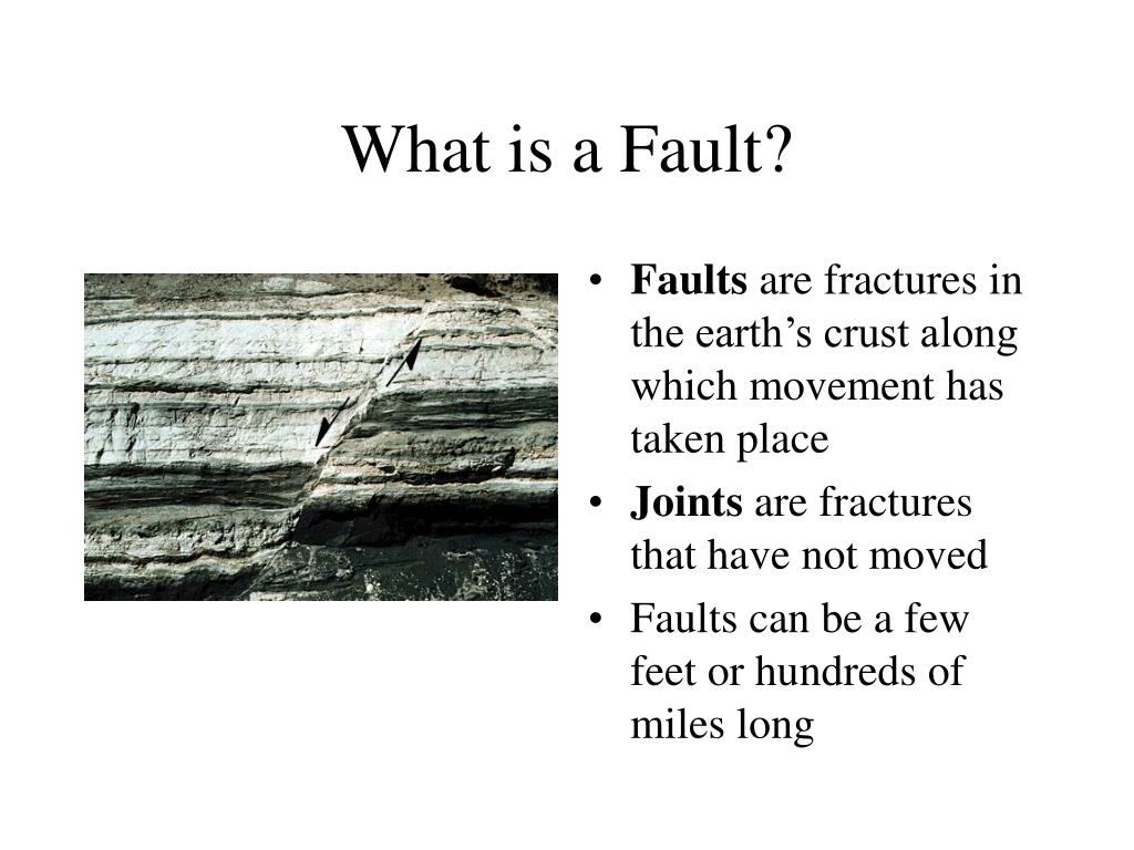 What is a Fault?