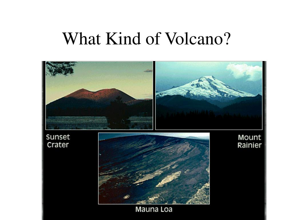 What Kind of Volcano?