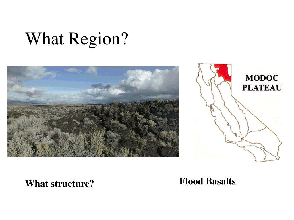 What Region?