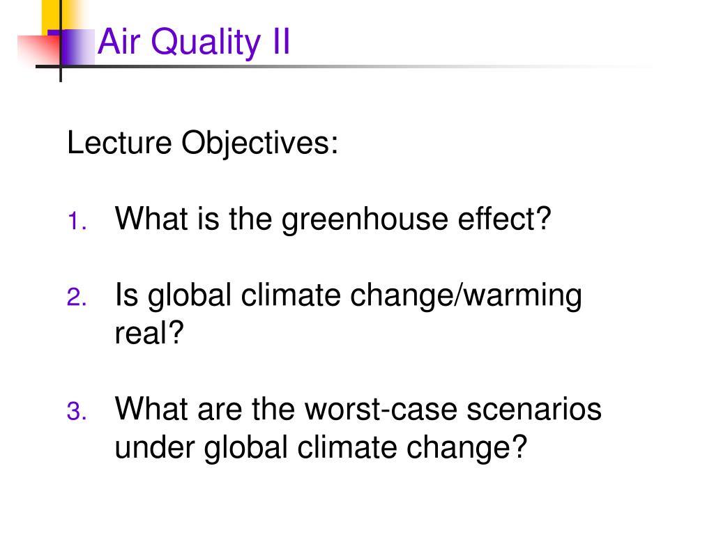 Air Quality II