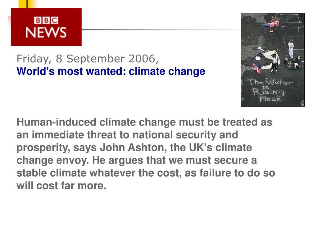 Friday, 8 September 2006,