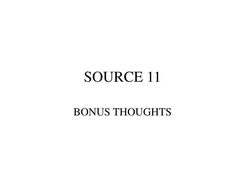 SOURCE 11