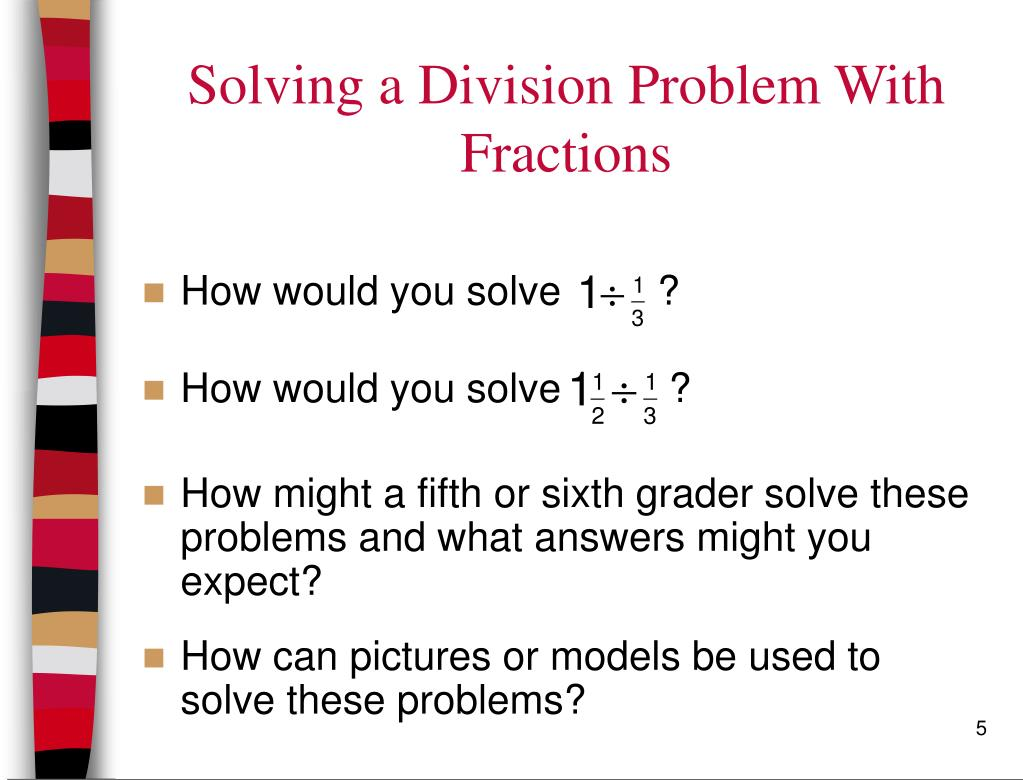 solving division problems
