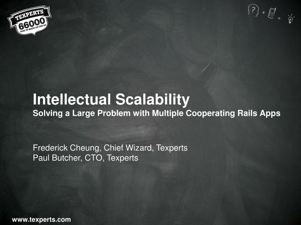 Intellectual Scalability