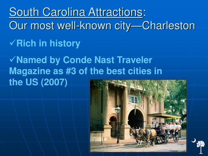 South Carolina Attractions