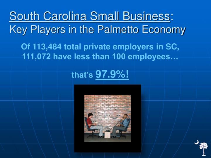 South Carolina Small Business