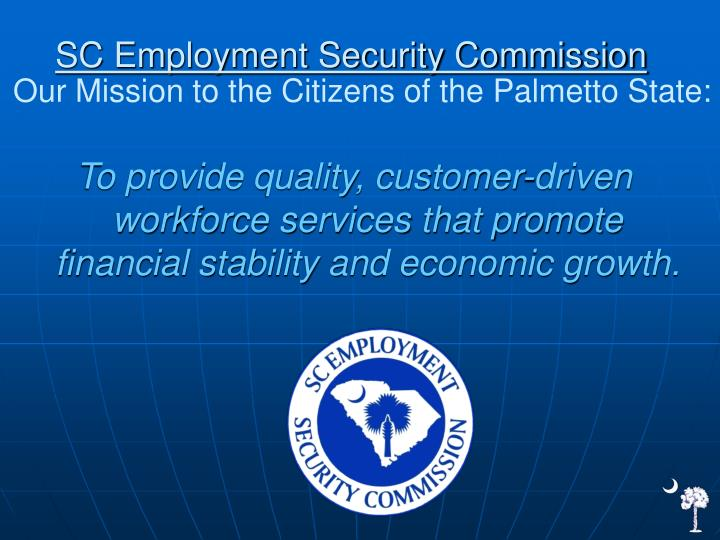 SC Employment Security Commission