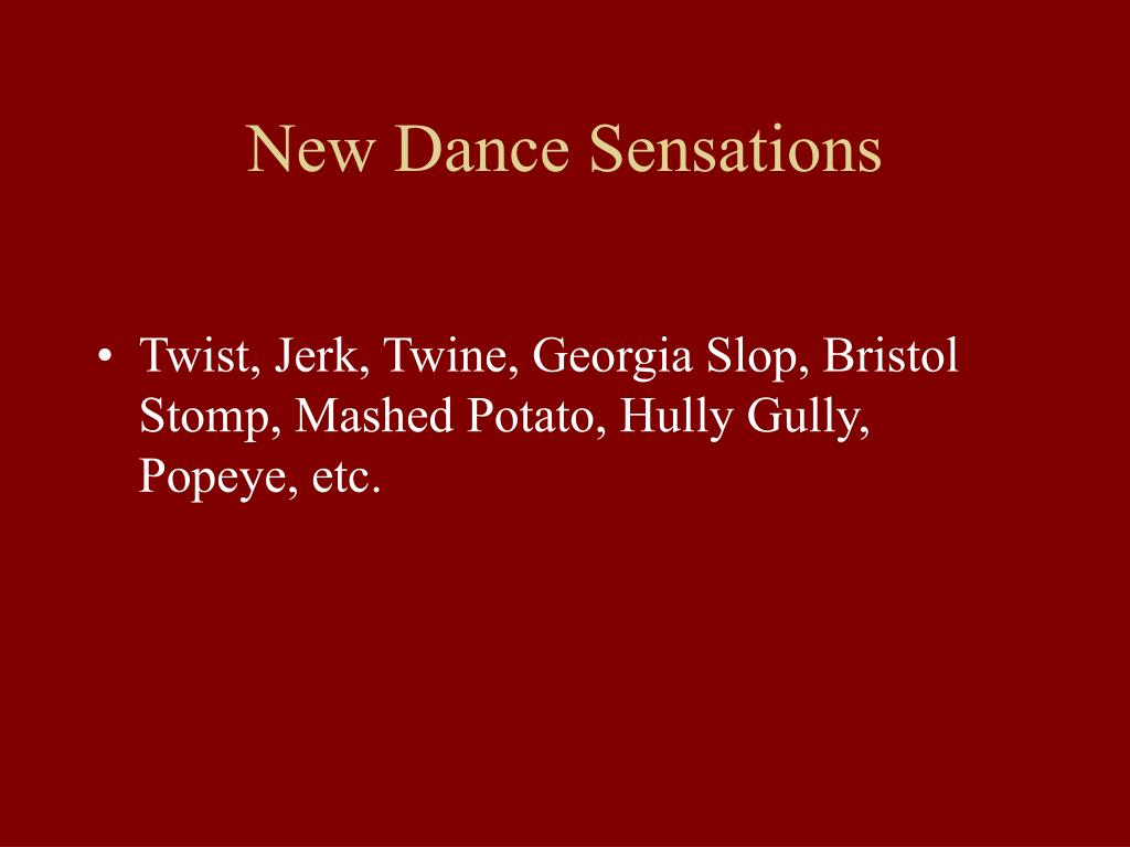 New Dance Sensations