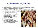 colonialism in jamaica