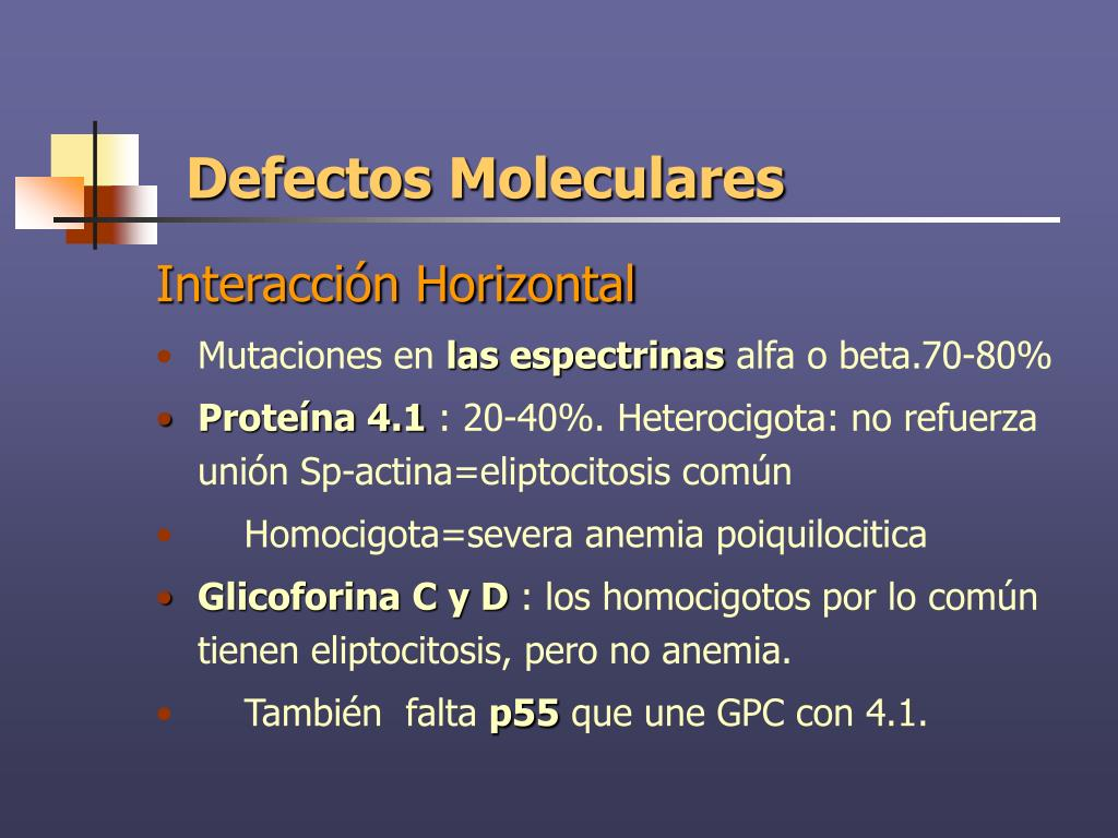 Defectos Moleculares
