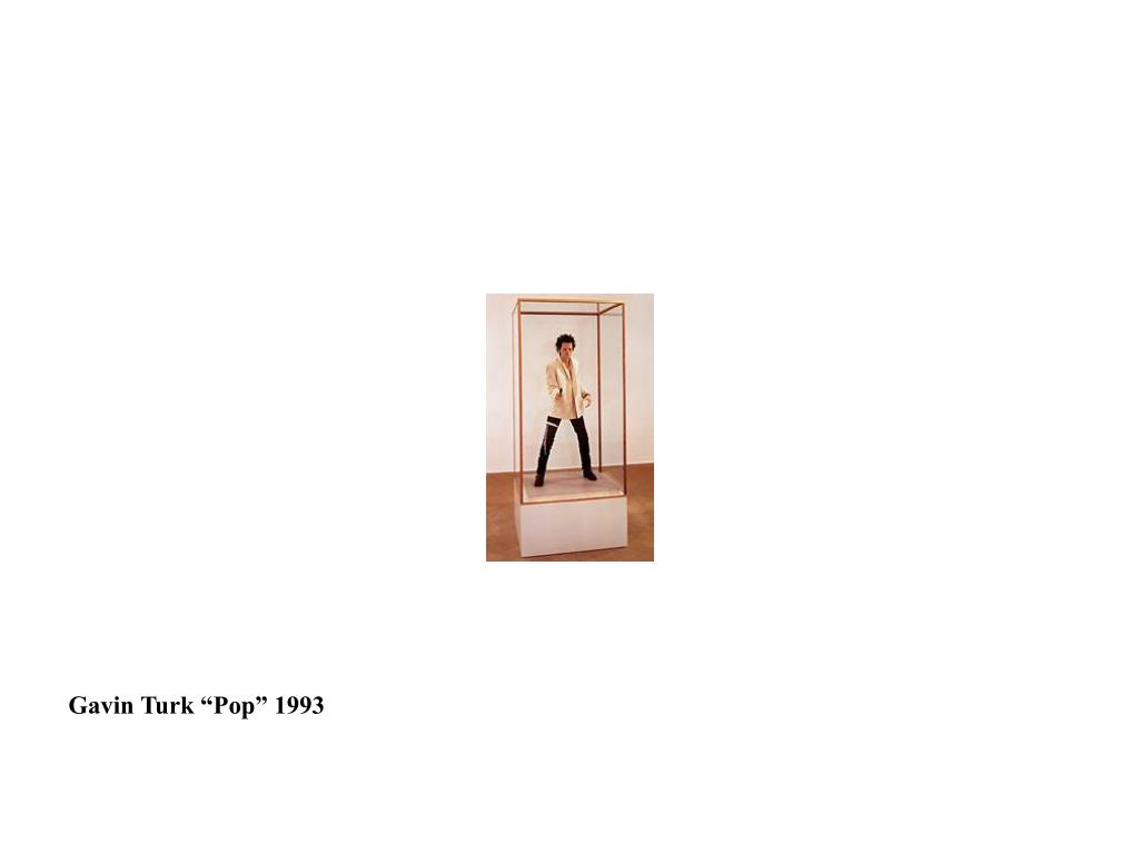 "Gavin Turk ""Pop"" 1993"