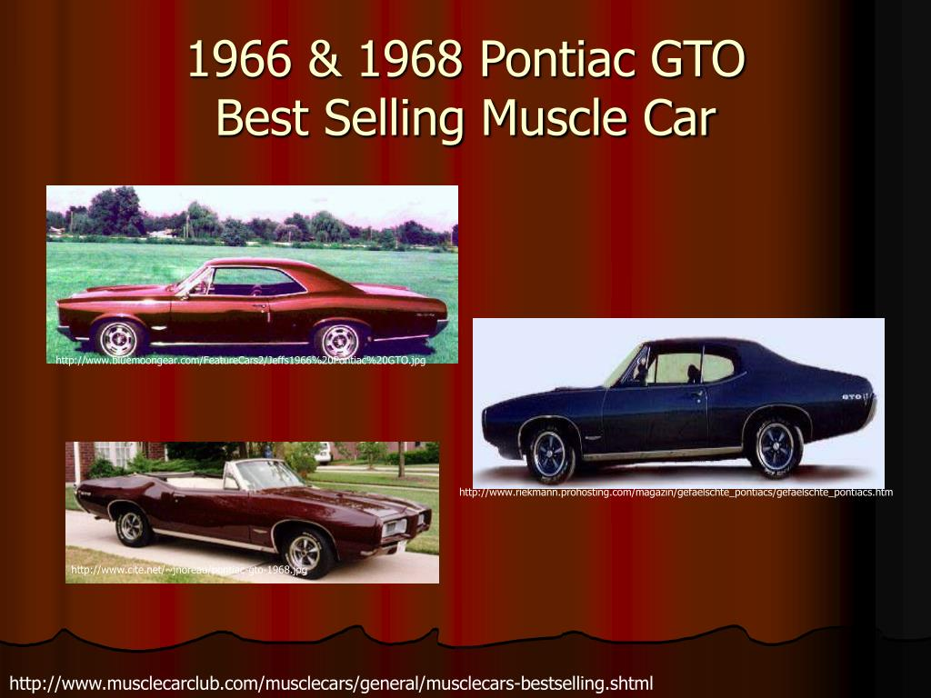 1966 & 1968 Pontiac GTO