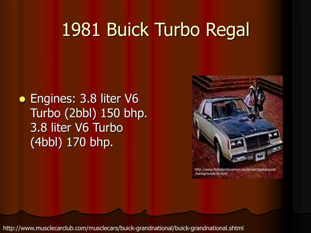 1981 Buick Turbo Regal
