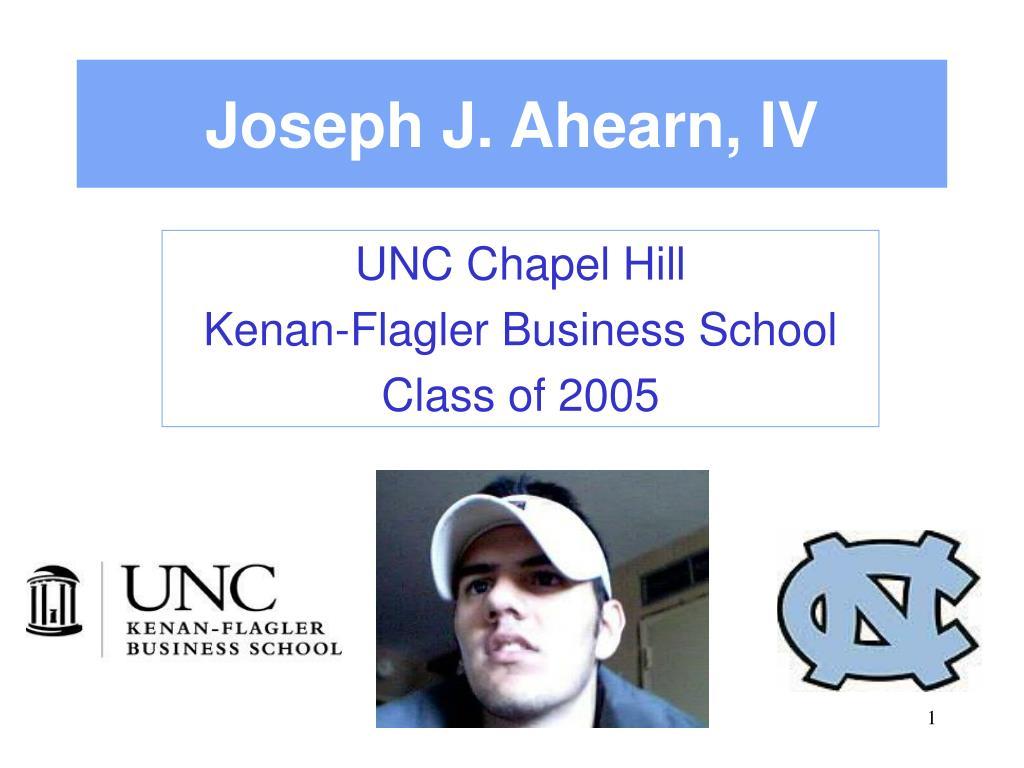 Joseph J. Ahearn, IV
