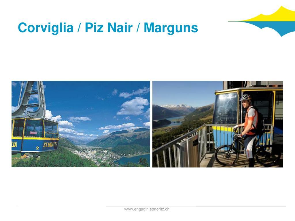 Corviglia / Piz Nair / Marguns