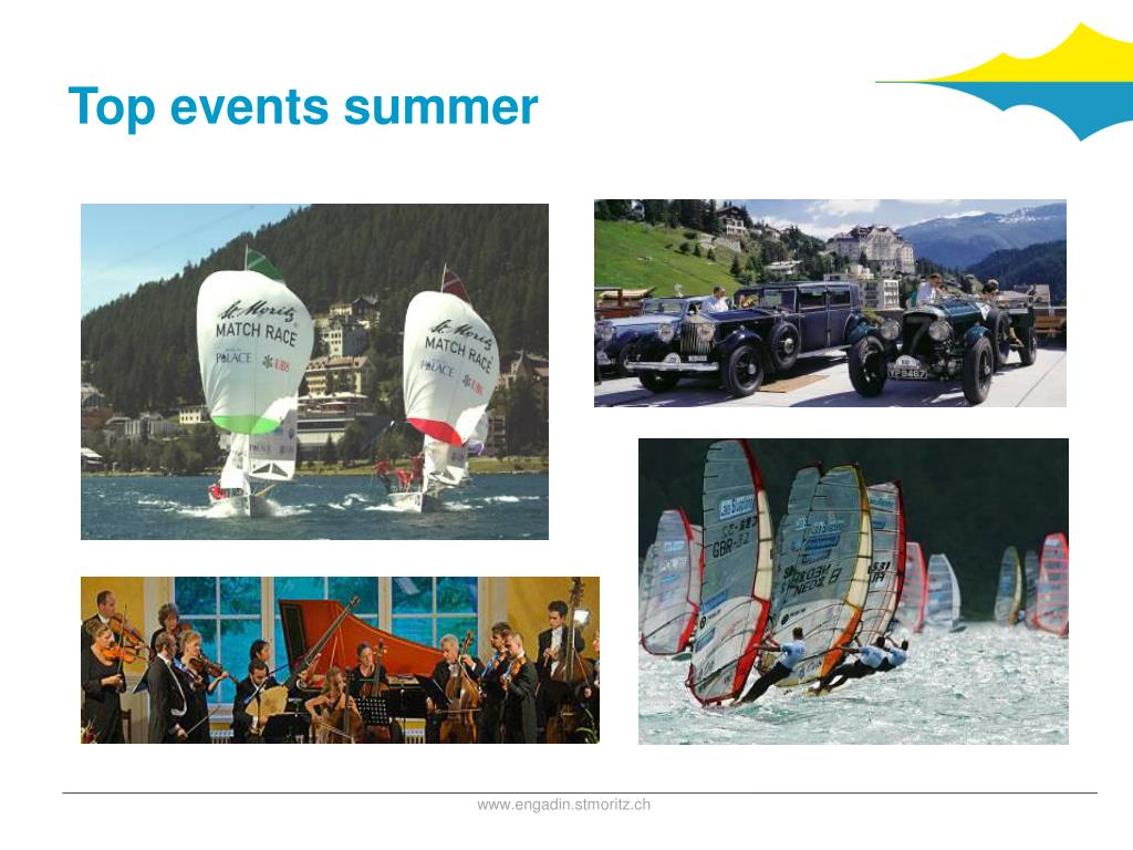 Top events summer