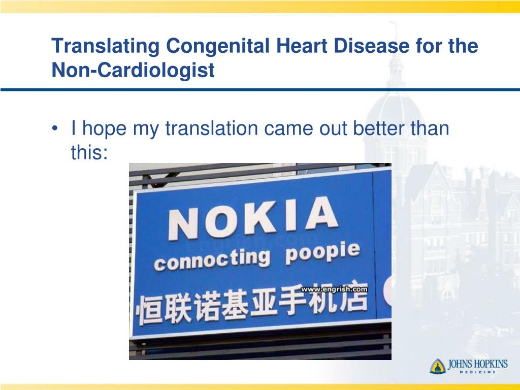 Translating Congenital Heart Disease for the Non-Cardiologist