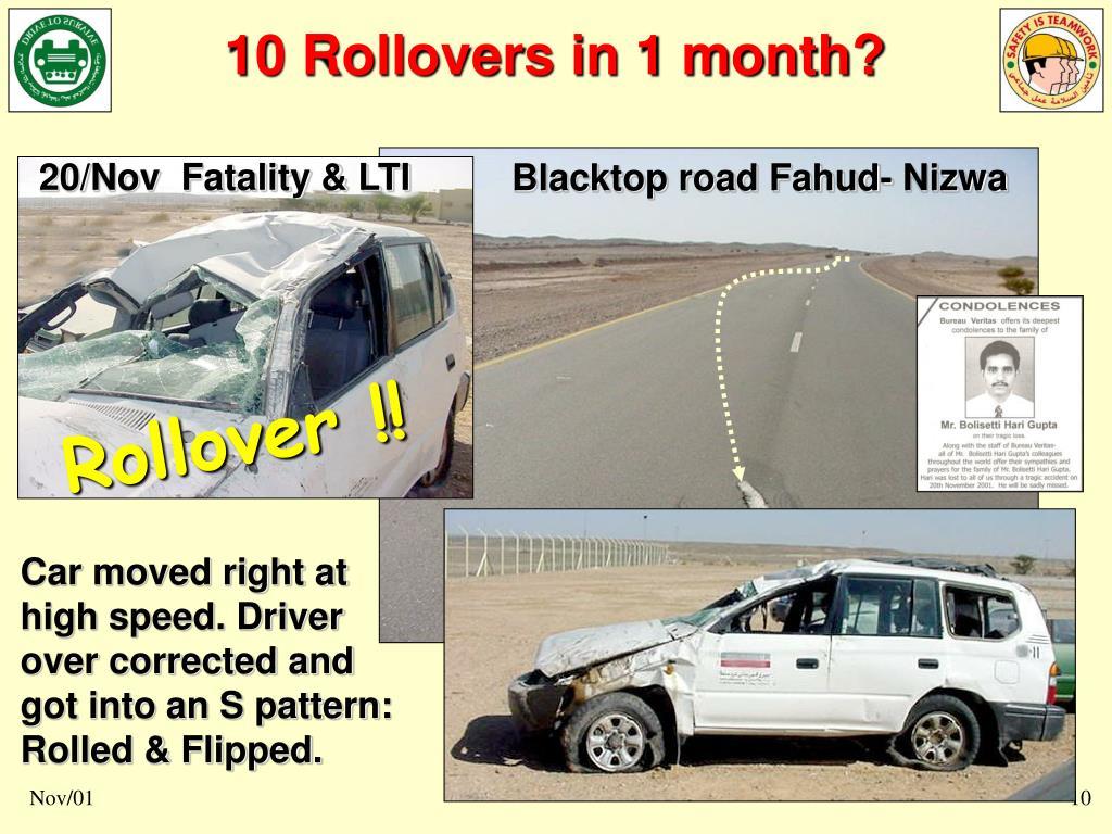 20/Nov  Fatality & LTI